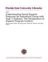 Understanding Social Support Programs for Individuals Living with Type 1 Diabetes