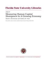 Measuring Human Capital Divergence In A Growing Economy