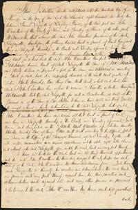 Land Agreement between General LaFayette and John Carrothers