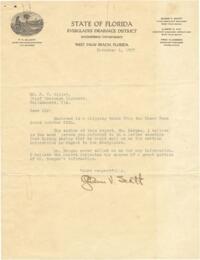Letter from Glenn V. Scott to Fred C. Elliot