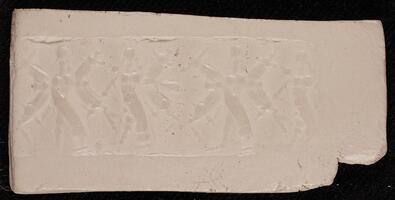 Babylonian Cylinder Seal Impression