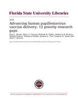 Advancing human papillomavirus vaccine delivery