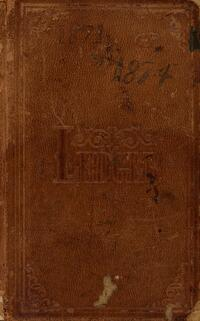 Itinerant Ministry Journal and Ledger