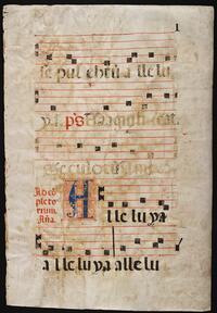 Roman Catholic Church antiphonals