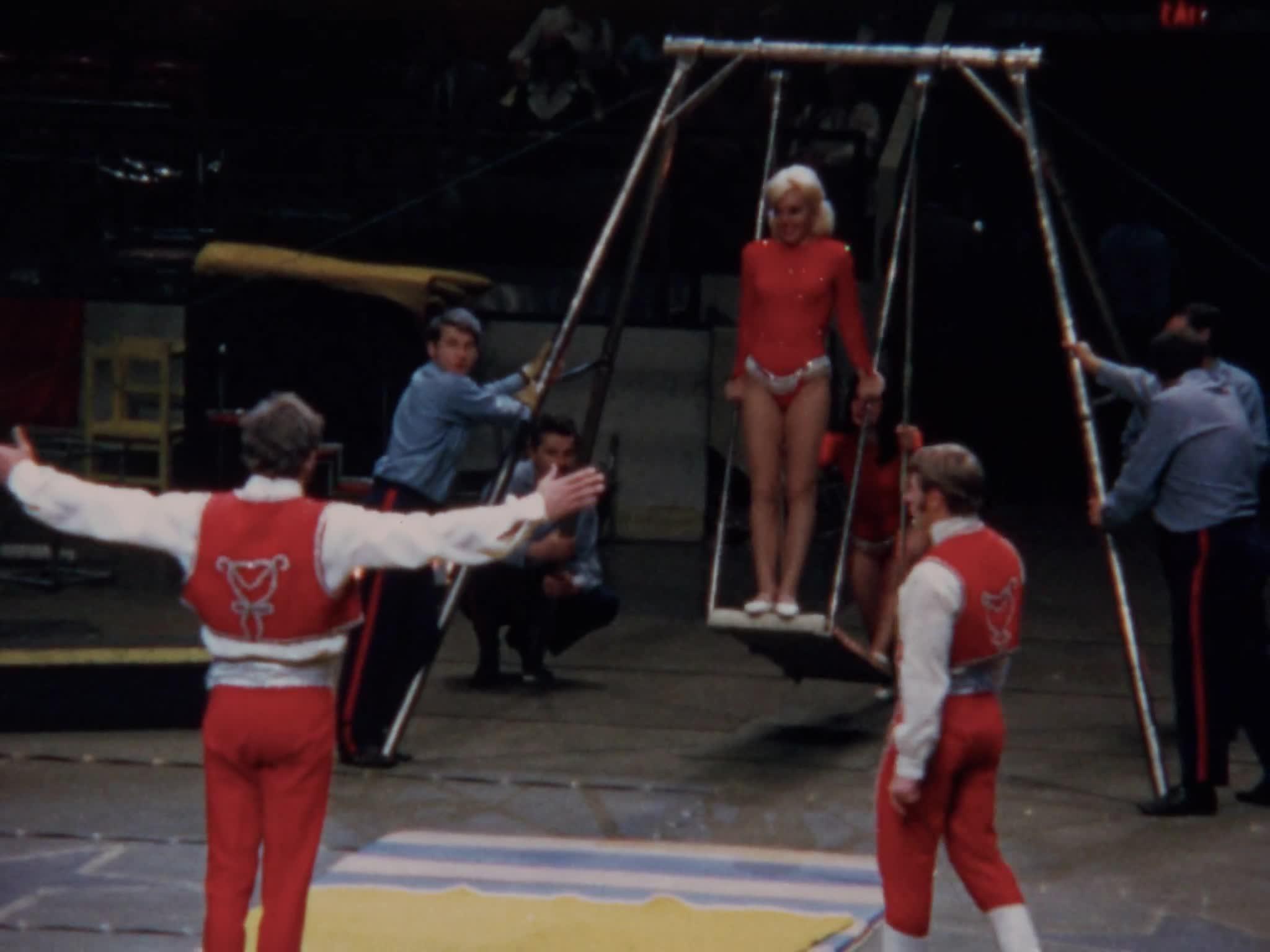 Otto Griebling, Russian Swing, Elfi Althoff, Giant Swing
