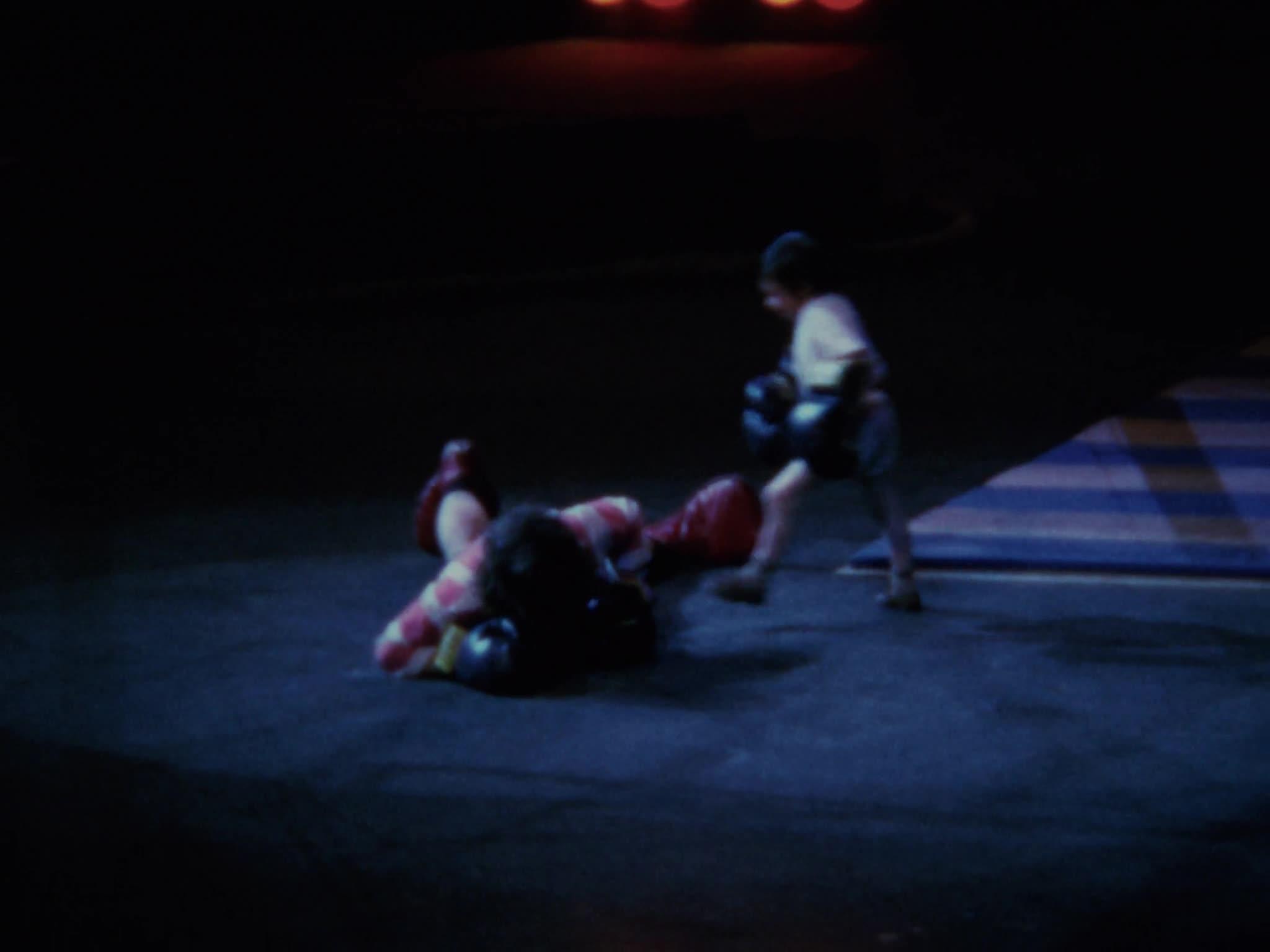 Michu, Clown Boxing, RBB Blue Unit, Tumbling