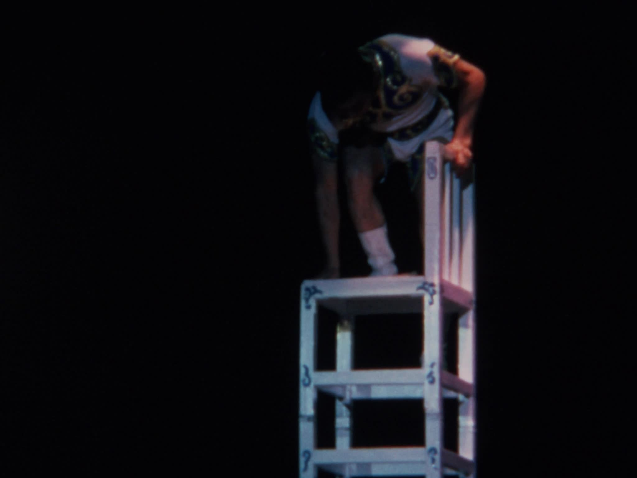 Four-Man Chair Balancing, Towers of Chairs, Acrobats