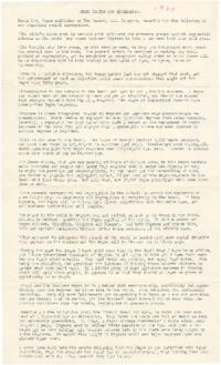 Civil Rights related newspaper clippings and correspondence