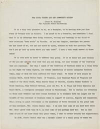 Civil Rights Act and Community Action