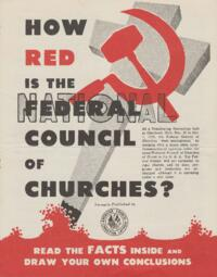 How Red is the Federal Council of Churches?