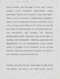 Florida State University Gospel Choir