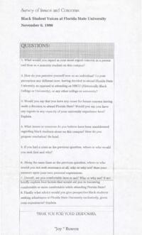Multicultural Questionnaire