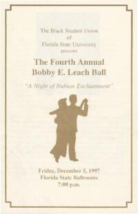 Invitations and Programs for Office of Multicultural Affairs Records Events