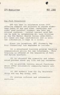 GPV Newsletter