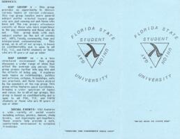 FSU Gay Student Union brochure