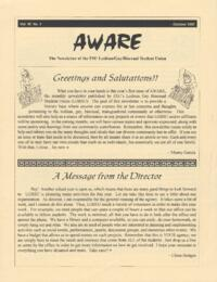 Aware newsletter