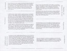 LGBTQ Student Resource Center Factsheet