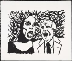 RuPaul and unknown man Poster Art