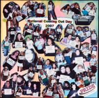 National Coming Out Day photo collage