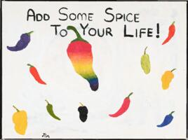 Add Some Spice to Your Life painting