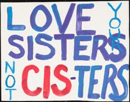 Love Your Sisters, not Cis-Ters