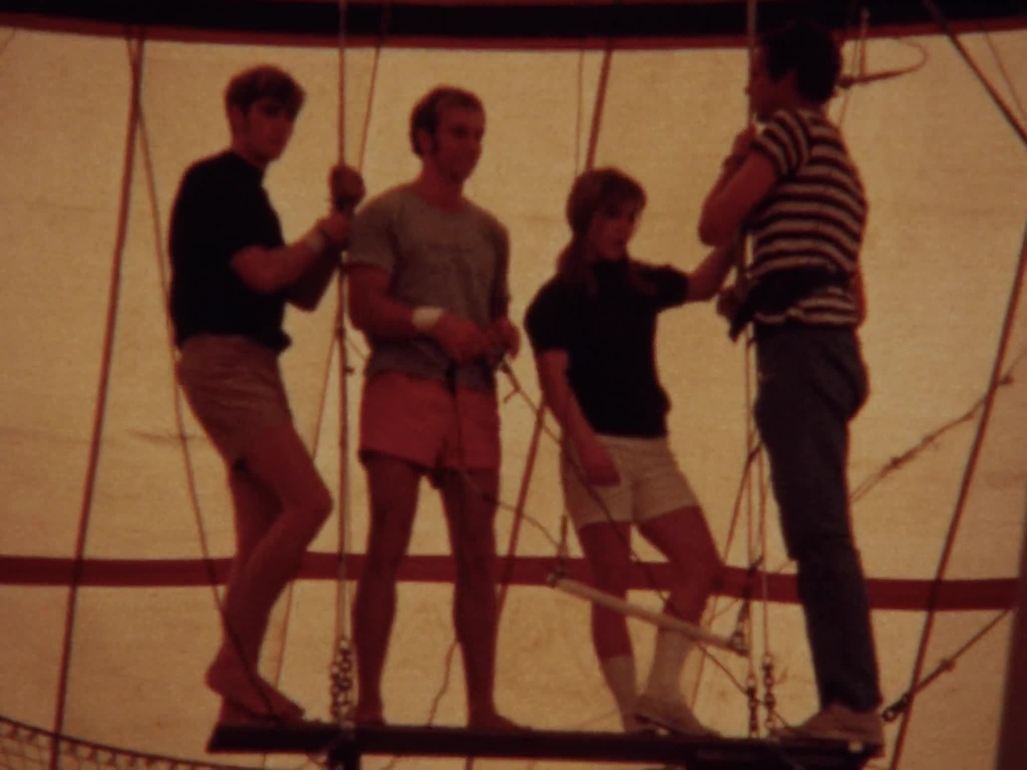 George Plempton Rider Guests of Circus Part II