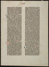 Bible. Latin. Vulgate. Selections. 1454