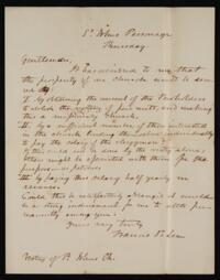 Correspondence, 1838-1911