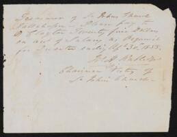 Financial Records, 1850-1859