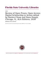 Review of Open Praxis, Open Access