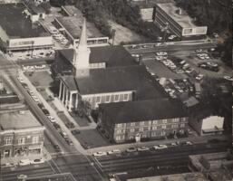 Aerial Photograph of First Baptist Church
