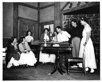 Speech theater performance of Ladies in Retirement