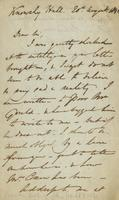 Letter from Edward Lear to Edwin Prince, 1841
