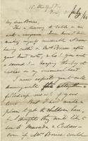Letter from Edward Lear to Henry Bruce, July 31, 1863
