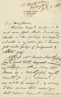 Letter from Edward Lear to Henry Bruce, July 3, 1868