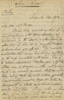 Letter from Edward Lear to Nora Bruce, December 24, 1870