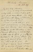 Letter from Edward Lear to Nora Bruce, February 26, 1877