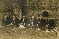 1915-1916 Varsity Basketball Team