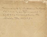 Florida Manuscript Materials