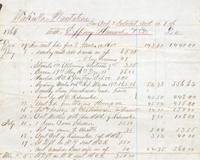 Wakulla Plantation Records