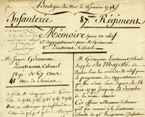 French Revolution Collection on Camille Desmoulins, Lucile Duplesis, and Arthur Dillon, 1702-1876