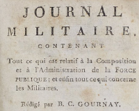Journal Militaire