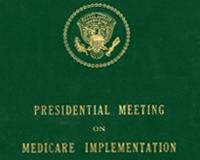 Charles R. Mathews Papers on Medicare Implementation