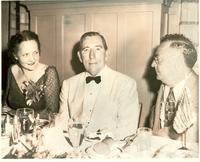 Claude and Mildred Pepper at a banquet