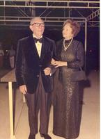 Claude and Mildred Pepper in formal clothing