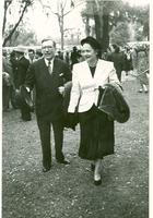 Claude and Mildred Pepper at the inauguration of Governor Fuller Warren