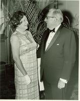 Claude and Mildred Pepper at the United Cerebral Palsy of Miami Award dinner