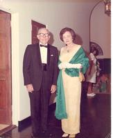 Claude and Mildred Pepper at a formal event