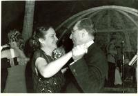Claude and Mildred Pepper dancing on New Year's Eve
