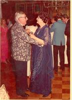 Claude and Mildred Pepper dancing at a formal event
